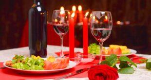 14 февраля, романтический вечер дома: как украсить стол?