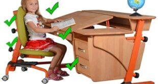 Выбираем правильно стул и стол для школьника 💺 бережем осанку смолоду, видео