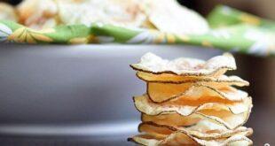 Домашние чипсы в микроволновке - пошаговый рецепт с фото