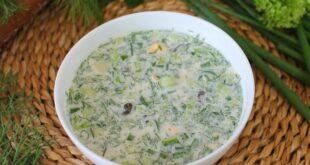 Грибной холодный суп - пошаговый рецепт с фото