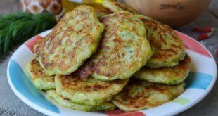 Кабачковые оладьи с сыром и зеленью - пошаговый рецепт с фото
