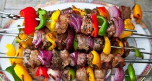 Шашлык из баранины с овощами - пошаговый рецепт с фото