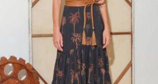 Красивая женственная одежда Andres Otalora весна-лето 2022