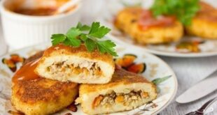 Картофельные зразы с фаршем - пошаговый рецепт с фото
