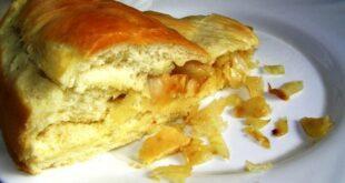 Постный пирог с капустой - пошаговый рецепт с фото
