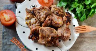 Шашлык с горчицей и майонезом - пошаговый рецепт с фото