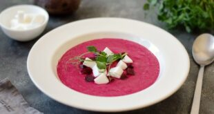 Свекольный крем-суп с фетой - пошаговый рецепт с фото